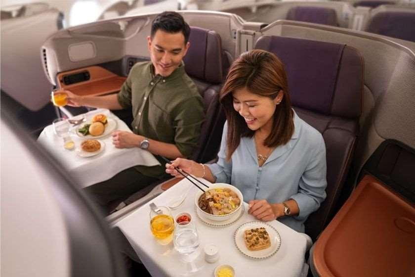 რესტორანი თვითმფრინავში