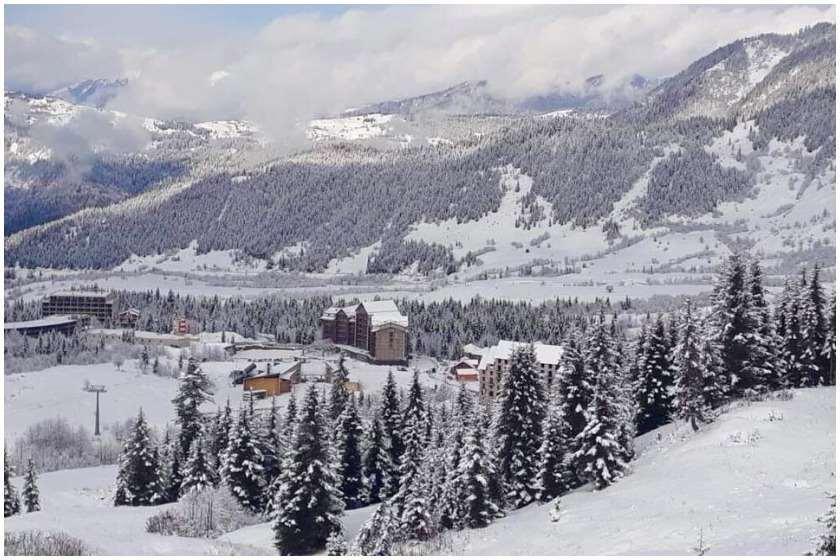თოვლი მთაში