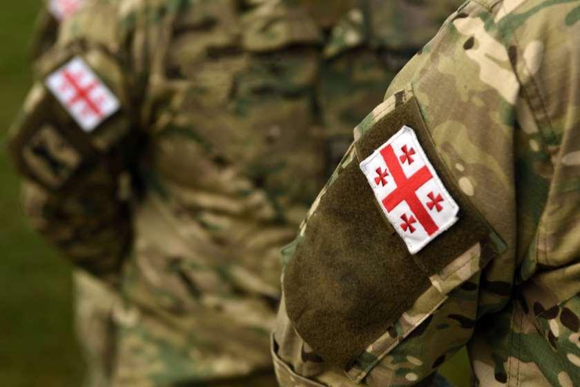 საქართველო ჯარი დროშა