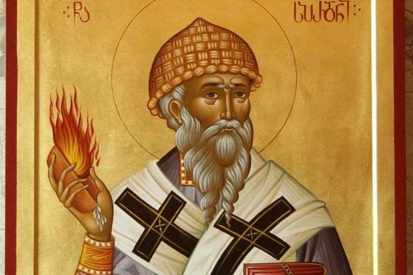 წმინდა სპირიდონ ტრიმიფუნტელის ხატი
