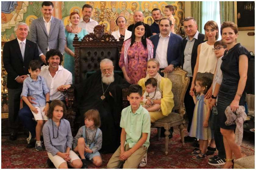 კახა კალაძის ოჯახი საპატრიარქოში