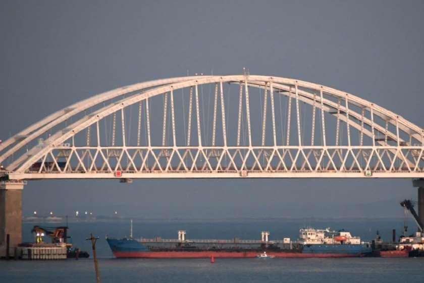 რუსული ტანკერი 2018 წელს, ქერჩის სრუტის დაბლოკვისას