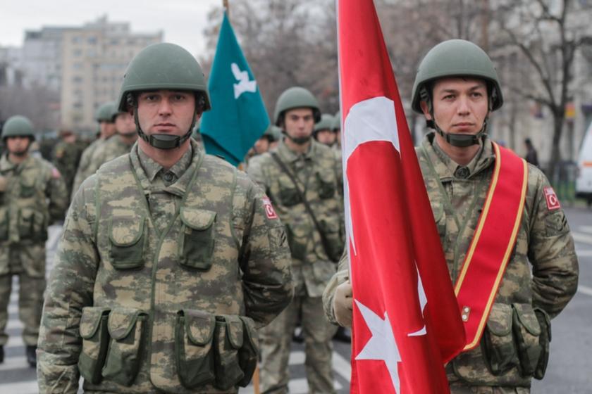 თურქი სამხედროები რუმინეთში